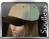 [§] Beige Brown cap