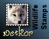 Wildlife Stamps: Wolf3