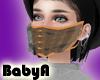 !BA Caramel Ruffl Mask 2