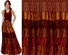 TF* Boho Rust Skirt