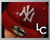 !LC™ NY Cap Red