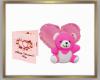 Valentine Bear/Card/Hear