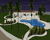 White/blk  Beach House