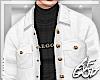 "Ⱥ"" White Jacket"