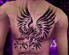 M Eagle V3 Chest Tattoo