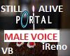 Still Alive- MALE VOICE