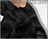I│Fur Coat Black
