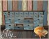 Ocean Blue Cabinet