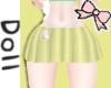 🎀yellow bunny skirt