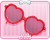 ♛Heart Sunglasses