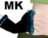 !Blue fur gloves MK