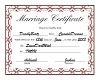 A&J Wedding Certificate