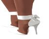 Katalyns White Heels