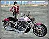 Ladies Motorcycle