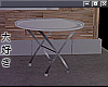 e outdoor, table