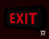 MayeExit sign