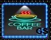 """GS"" NEON SING COFFEE"