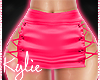 RL Pink Satin Skirt