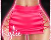 RLL Pink Satin Skirt