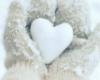 Snow heart e
