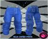 CK - Blue Cargo Pants
