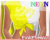Neon Y/W Logo Elena Tee