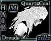 [zllz]M Dreads White Blk