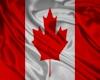 Canadian Steel Wall Flag