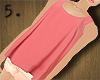 5. Loose Pink Top