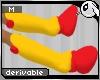 ~Dc) Robo Horse Feet M