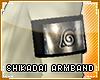 !T Shikadai leaf armband