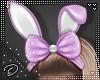 !D! Bunny Ears Bow Lilac