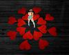 Dancing Hearts Rug