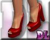 DL: Red Peep Toes