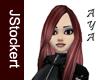 Dark Auburn Aya Hair