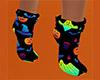 Halloween Socks 17 (F)