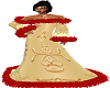 Gold Flake Winter Dress1