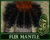 Fur Mantle Black