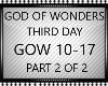 GOD OF WONDERS PT2