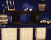 Kids Royal blue Shelf