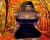 Agnetha Purple Dress