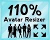 Avatar Scaler 110%