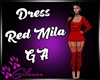 Dress Mila Red GA