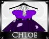 Cute Purple Heart Dress