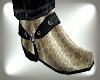 Rattler Skin Boots