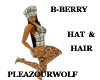*PW* B B Hat with Hair