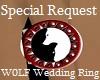 W0LF Wedding Ring (F)