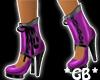 Purple n Blck Stiletto's