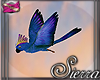 ;) Island Bird Blue