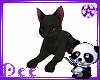 Black Kitty W/kisses